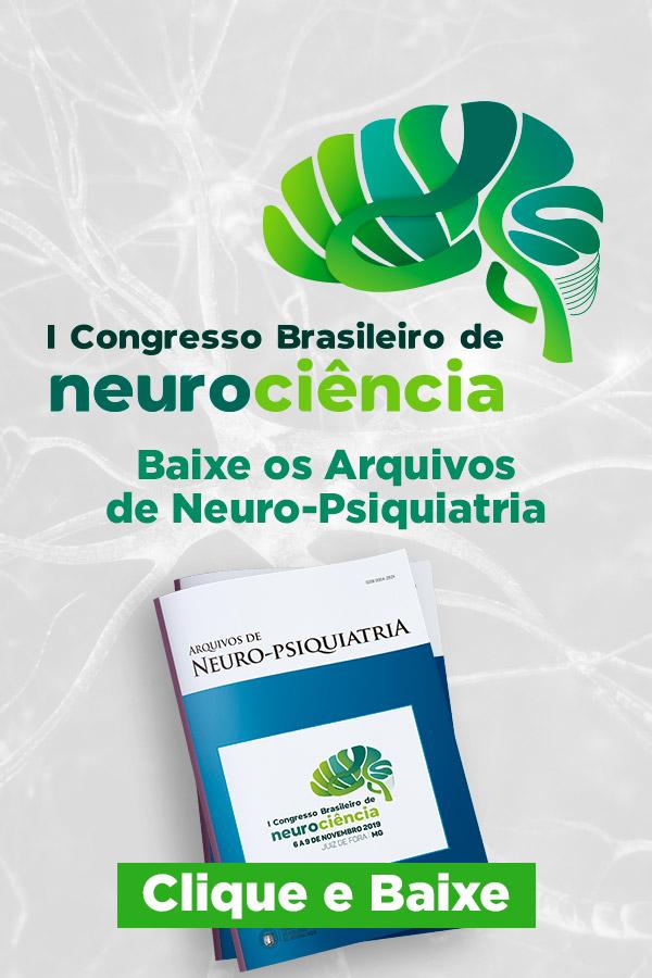 1º Congresso Brasileiro de Neurociência